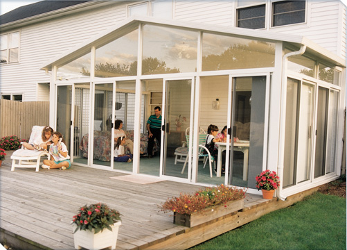 p3 a frame sunroom